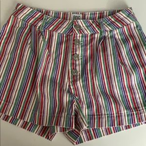 Urban Outfitters Striped Shorts